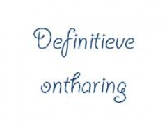 definitieve-ontharing